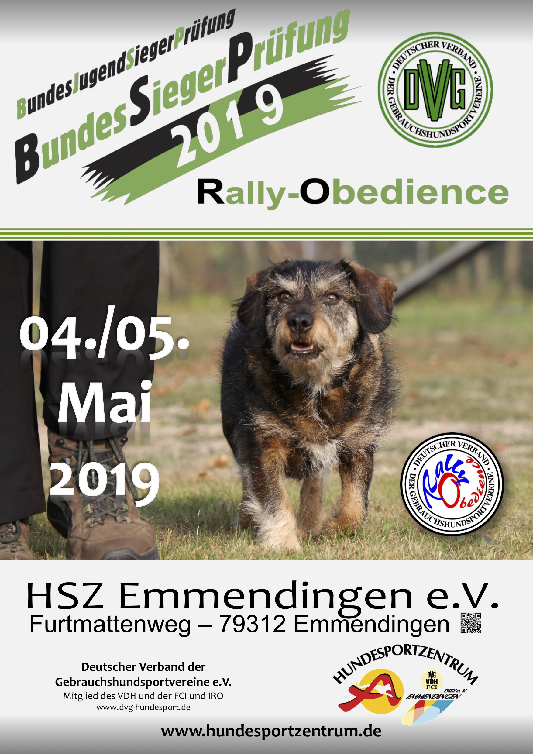 DVG BSP/BJSP Rally Obedience