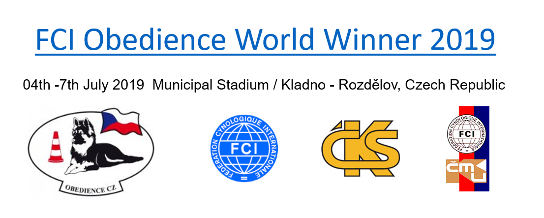 FCI WM Obedience 2019 @ Kladno, Czech republic